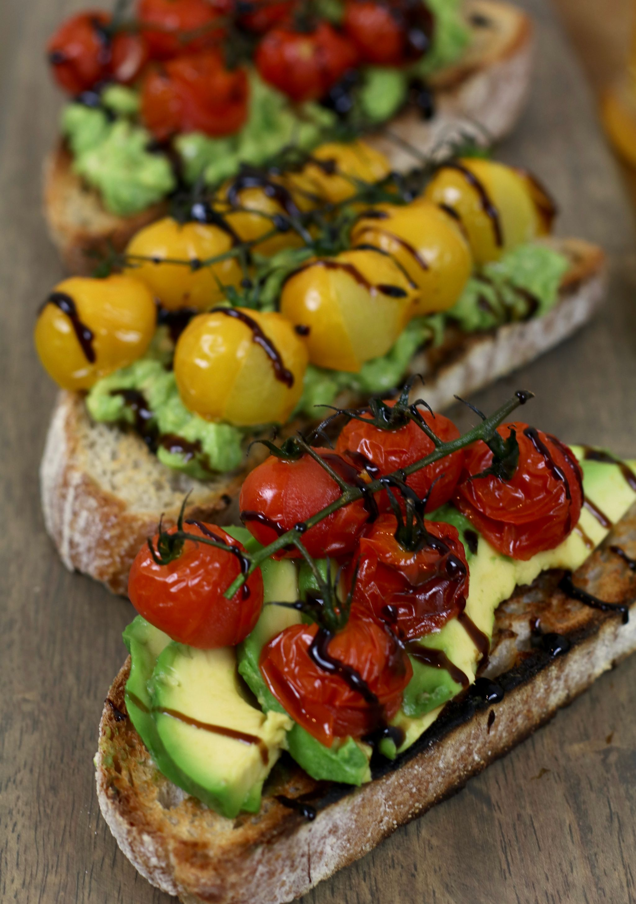 Brunch at home - avocado toast