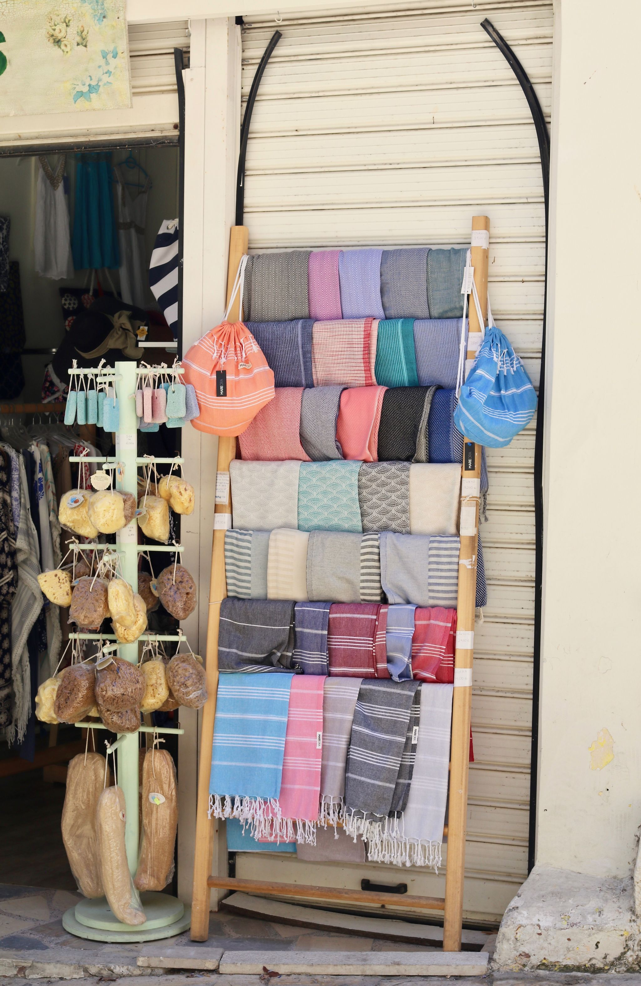 Bits and Bobs shop Kassiopi | Corfu travel guide
