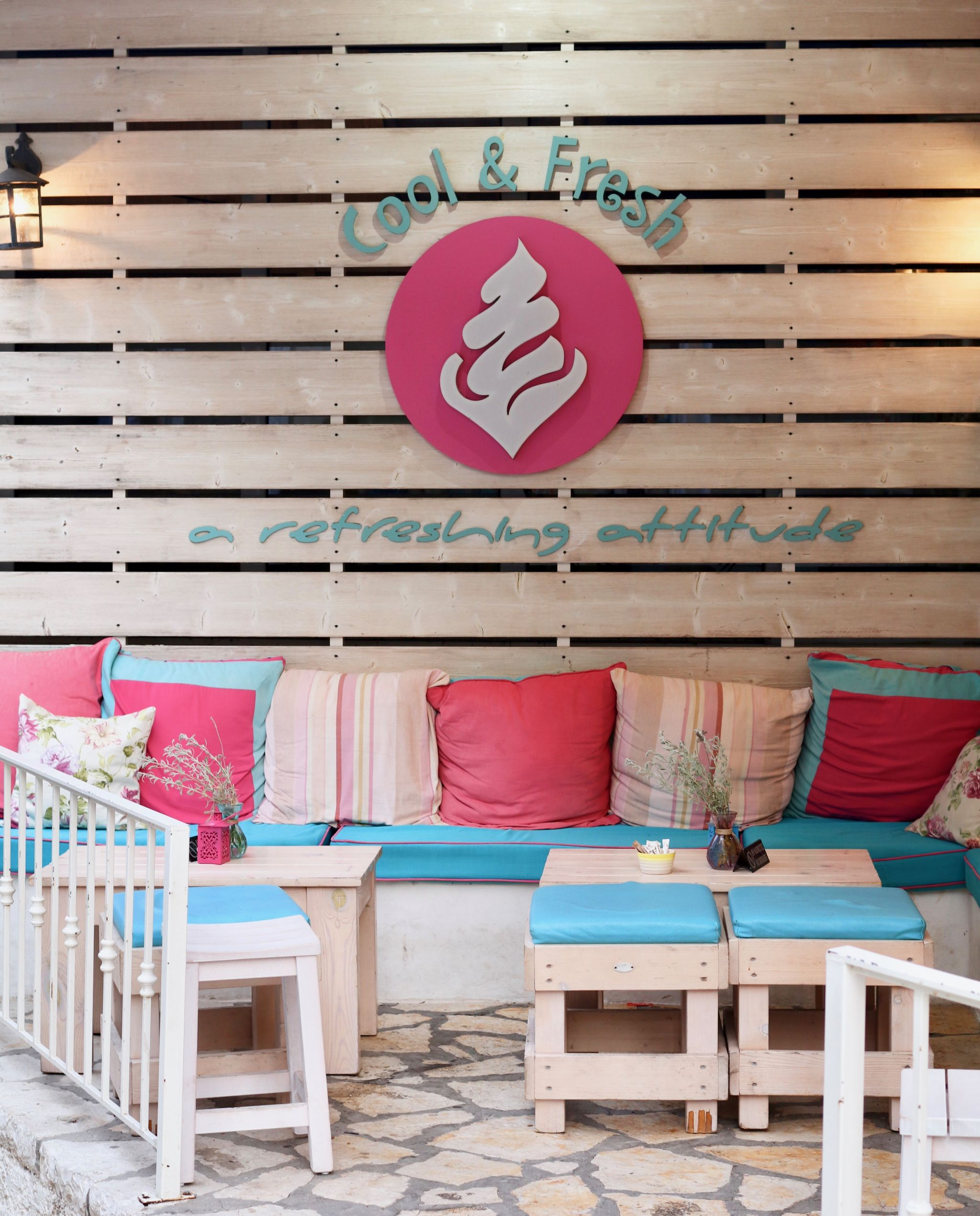 Cool & Fresh Ice cream parlour Kassiopi | Corfu travel guide