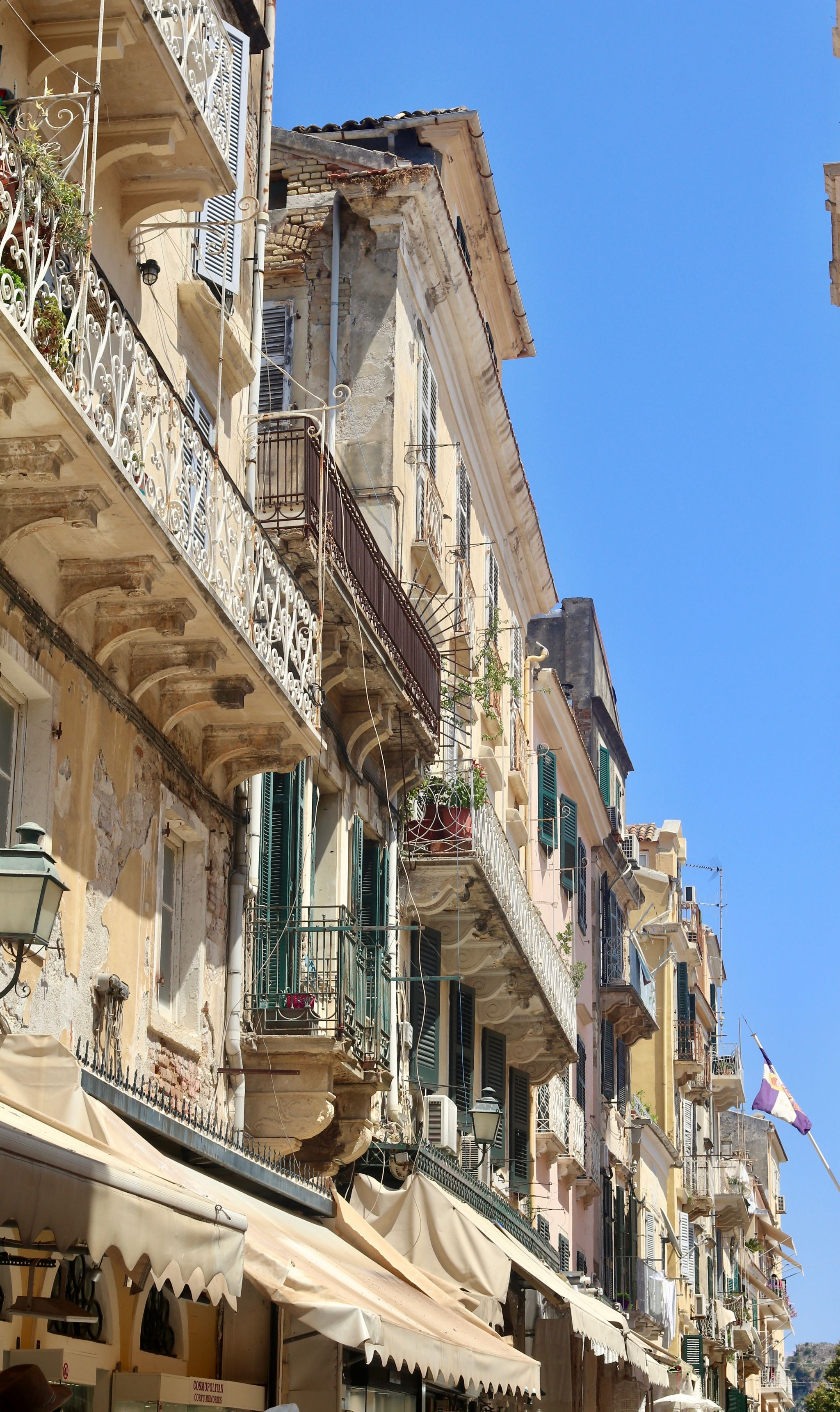 Corfu town | travel guide Corfu Greece