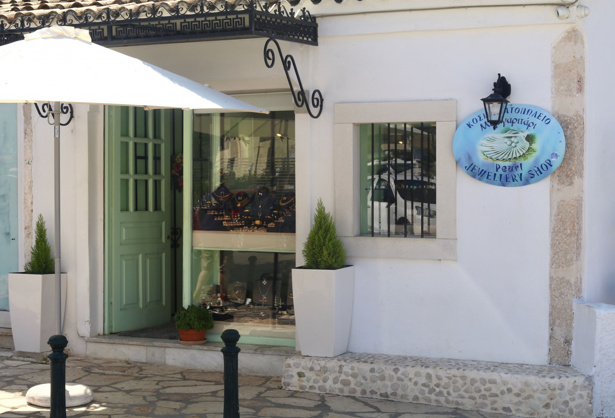 Kassiopi Pearl Jewellery shop | Corfu travel guide