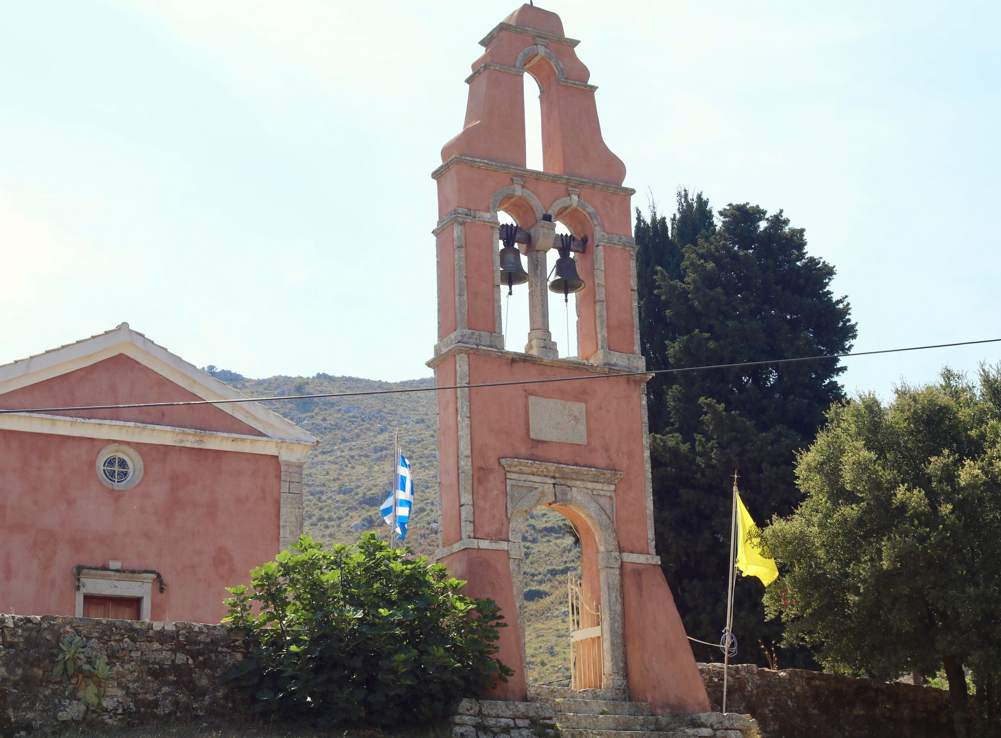 Old Village of Perithia church | Corfu travel guide