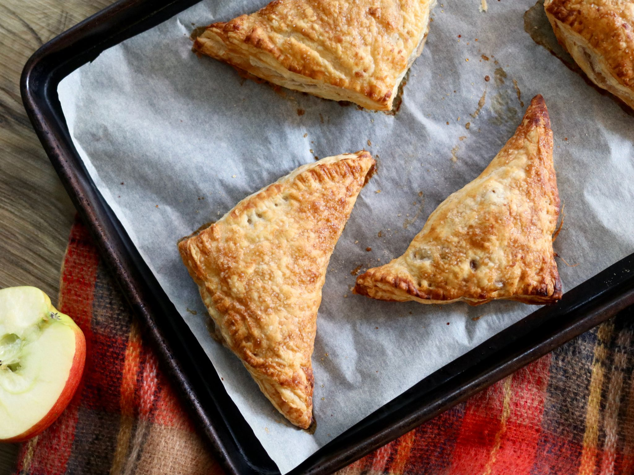 Apple turnovers recipe for Fall