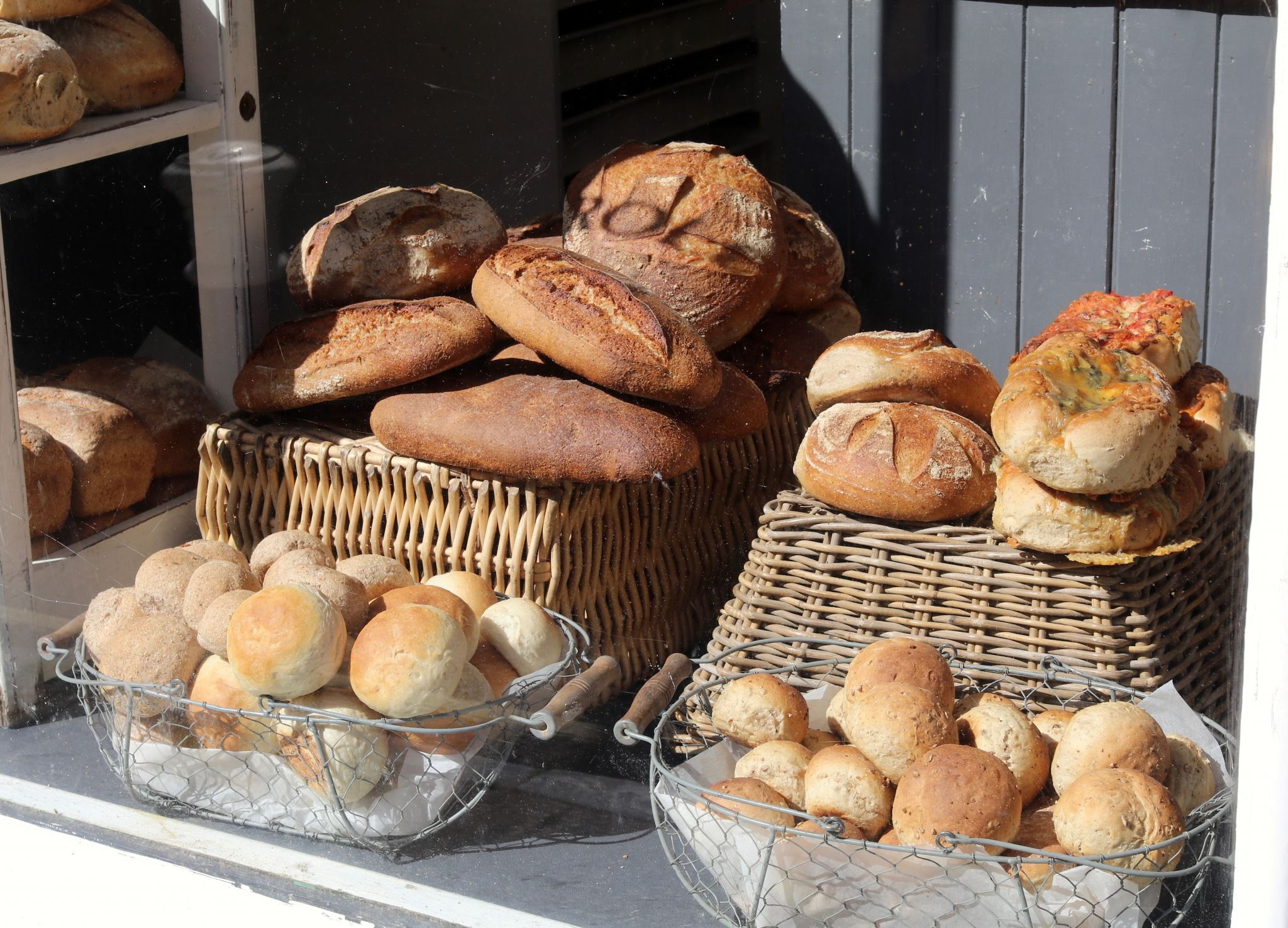 Sherborne Dorset Oxfords bakery fresh baked bread
