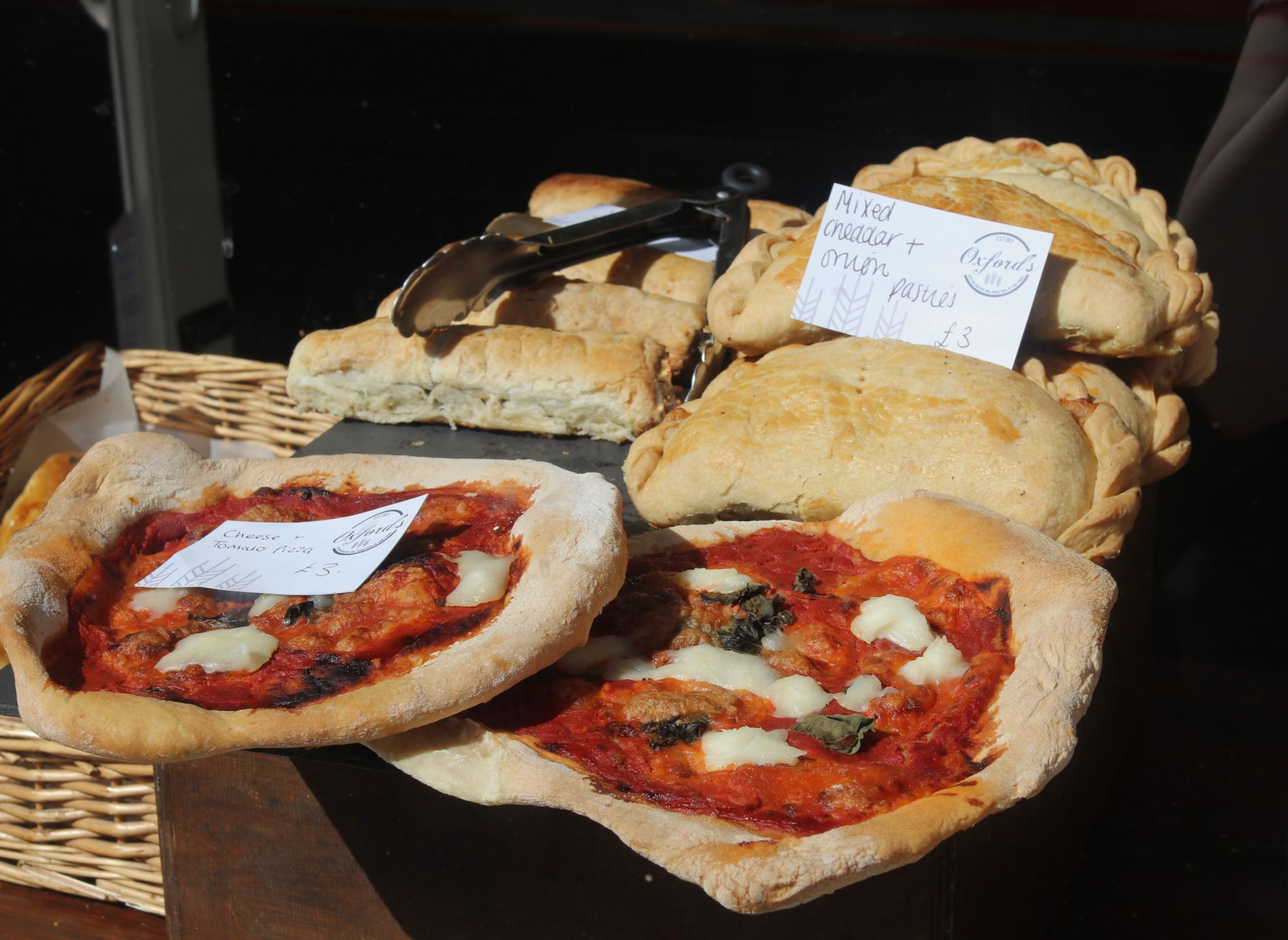 Sherborne Dorset Oxfords bakery fresh pizzas and pastries