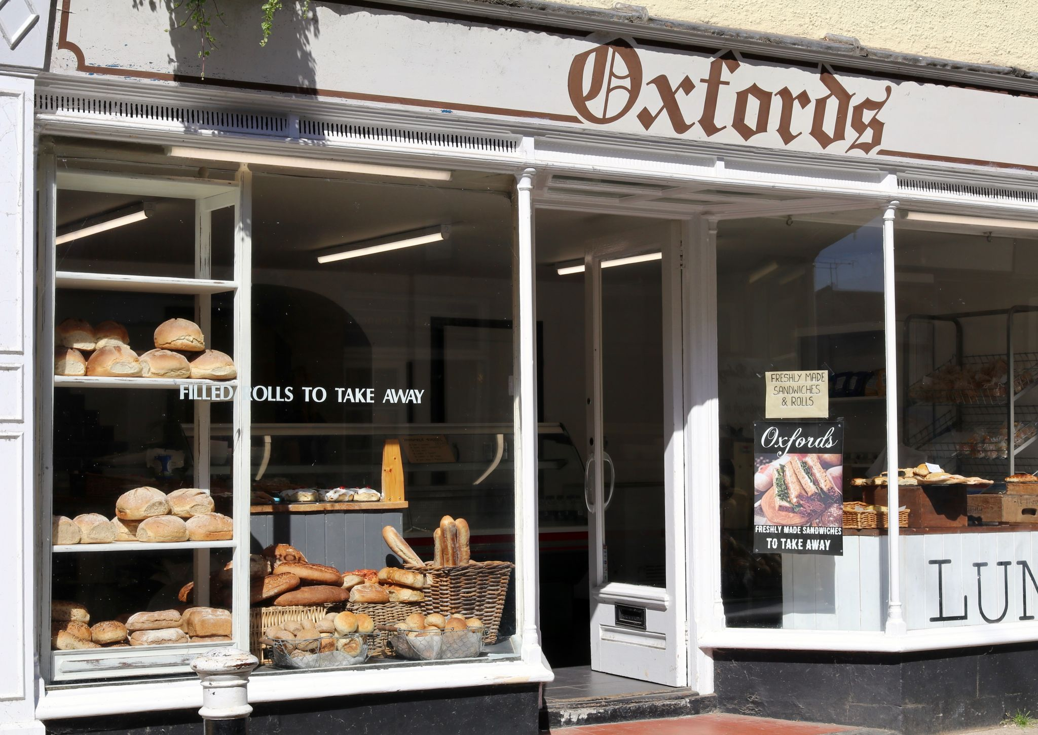 Sherborne Dorset Oxfords bakery