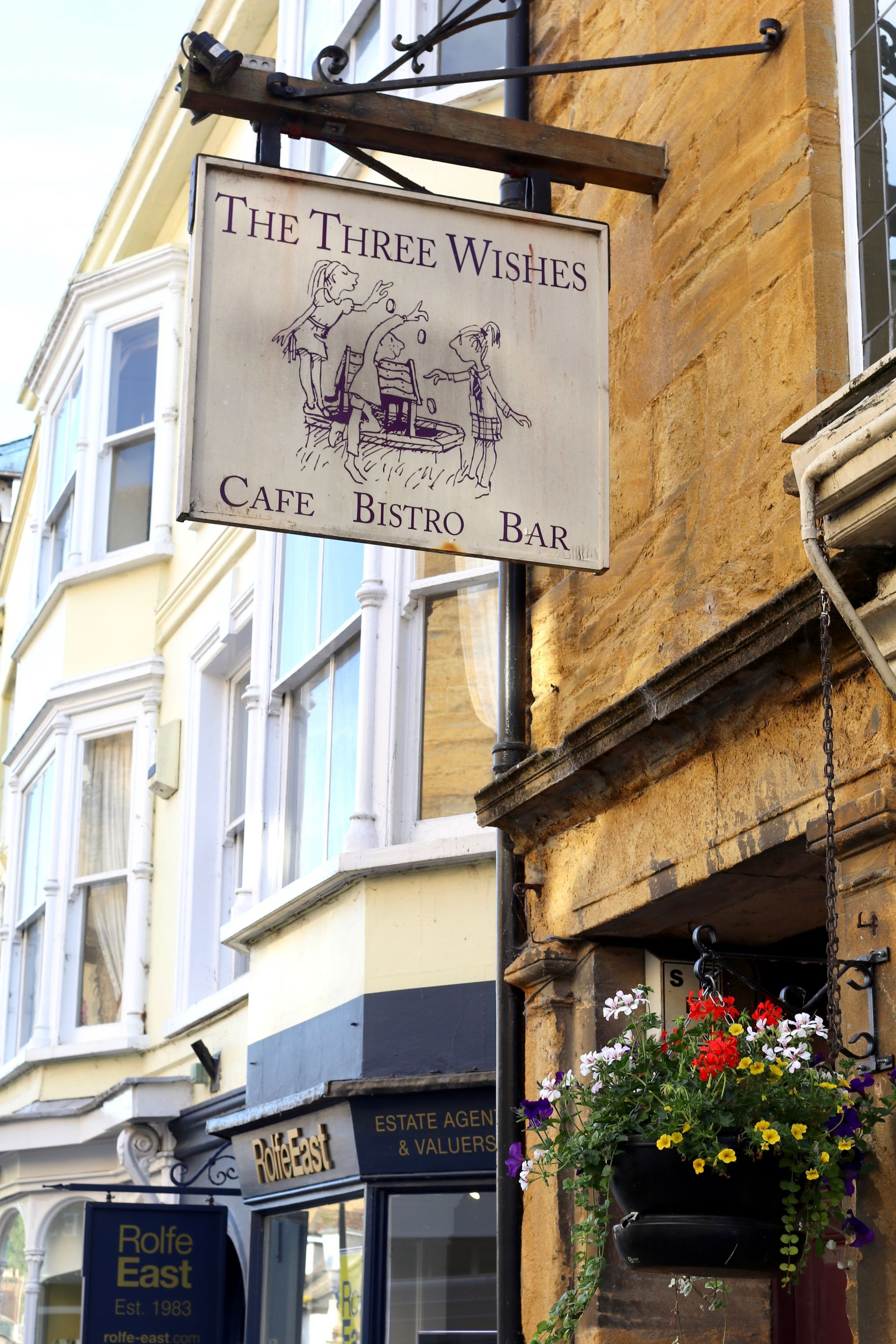 The Three Wishes Cafe Sherborne Dorset