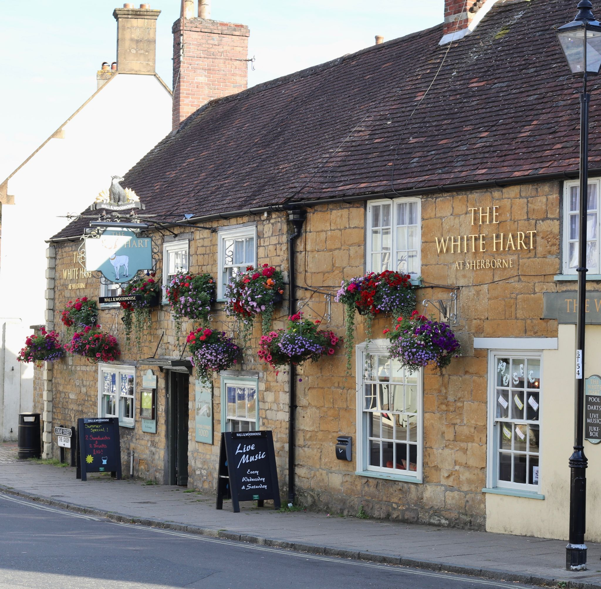 The White Hart pub Sherborne Dorset