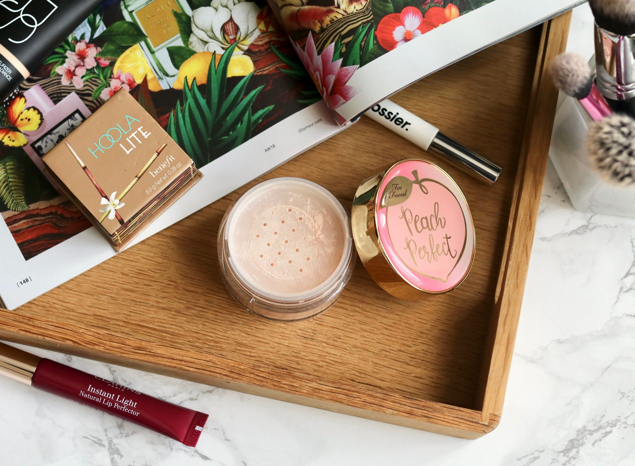 too faced peach perfect setting powder - the best powder of them all for oily skin?