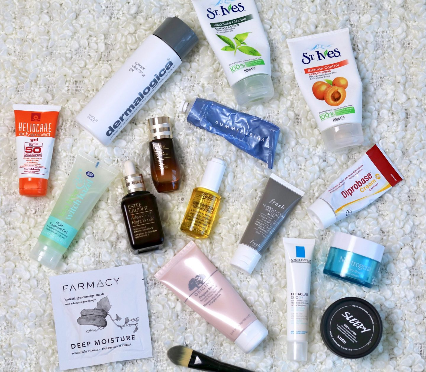Beauty roundup 2018 skincare